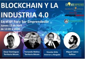 Miguel Calero de Kafkian hablará de Blockchain en el Foro Ser Emprendedor