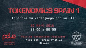 Málaga acogerá el primer evento de Tokenomics Spain el 30 de mayo